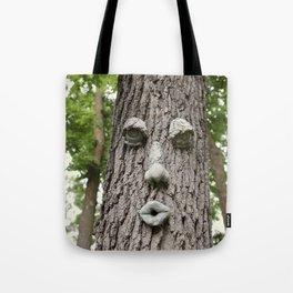 The Tree is Watching Tote Bag