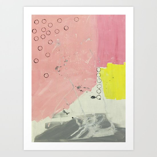 Abstract painting 2 Art Print