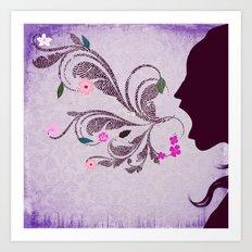 Beautiful Lies Art Print