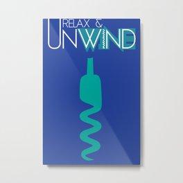 Unwind 2 Metal Print