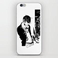 Nail Biting iPhone & iPod Skin