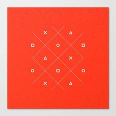 Geometry is Fun Canvas Print