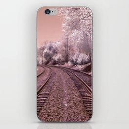 Train Track in Culpeper iPhone Skin