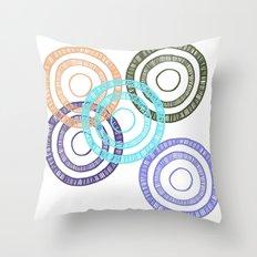Bianca Circle Throw Pillow