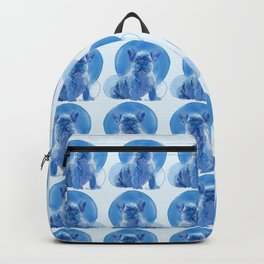 Monochromatic French Bulldog Backpack
