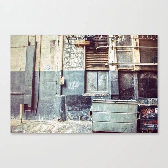 Alley ''97 Canvas Print