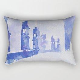 Charles bridge (Prague) Rectangular Pillow