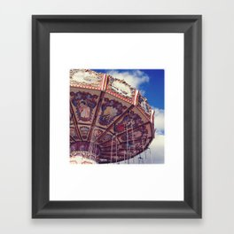 Merry - Go - Round Framed Art Print