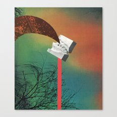 speak - goofbutton collaboration #3b Canvas Print