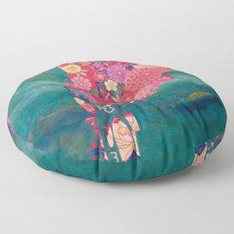A NEWCOMER 01 Floor Pillow