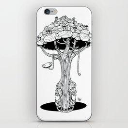 The alien tree iPhone Skin