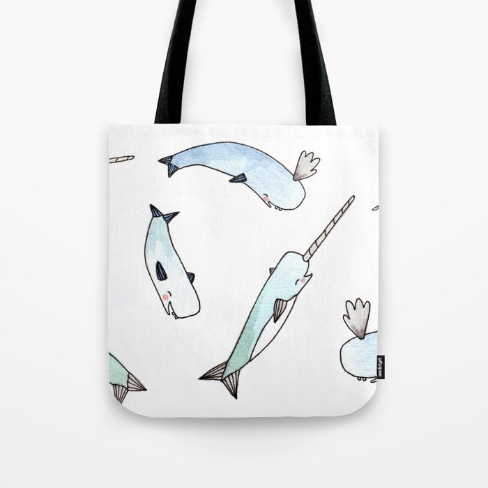 Narwhal Friends Tote Bag