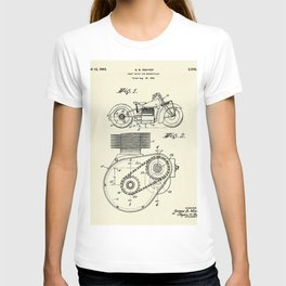 Shaft Drive for Motorcycles-1943 T-shirt