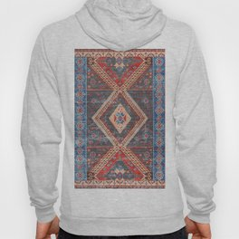 (N16) Boho Moroccan Oriental Artwork for Rustic and Farmhouse Styles. Hoody