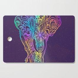 Magical mystery elephant Cutting Board