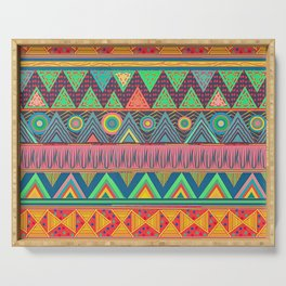 Tribal Ethnic (candy colors) Serving Tray