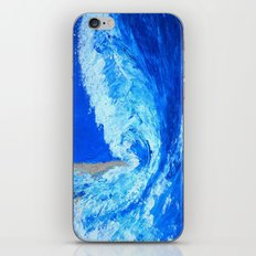 Big Wave  palette knife abstract iPhone & iPod Skin