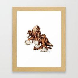 Stallion Swagger Framed Art Print