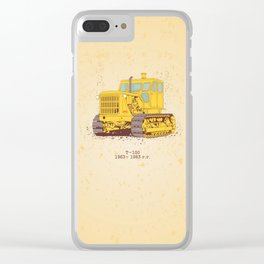 T 100 Clear iPhone Case