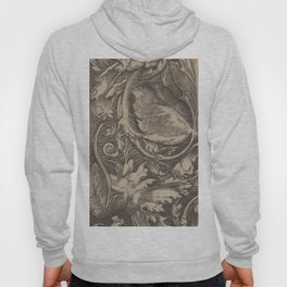 Black and White Paisley Pattern - Date Unknown Hoody