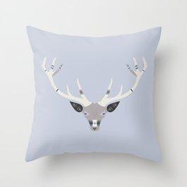Stag Spirit Throw Pillow