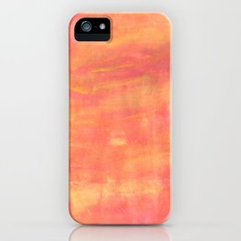 Sunset sky. iPhone Case