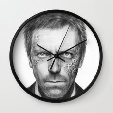 Hugh Laurie from House MD Doctor House Wall Clock