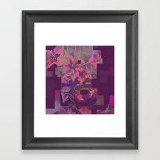 Four Lillies Framed Art Print