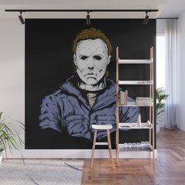 He's Back! Happy Halloween! Wall Mural