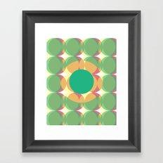 Circle colours  Framed Art Print