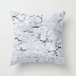 Old Stone Wall - textured III Throw Pillow
