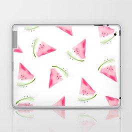 Falling watermelons Laptop & iPad Skin