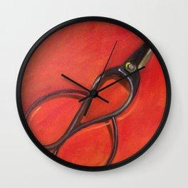 Cut II Wall Clock