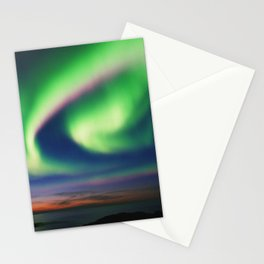 The Northern Lights 02 Stationery Cards