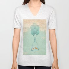 Flight to Freedom Unisex V-Neck