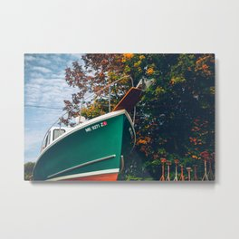 A Nice Fall Day in New England Metal Print