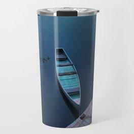 Blue Canoe Travel Mug