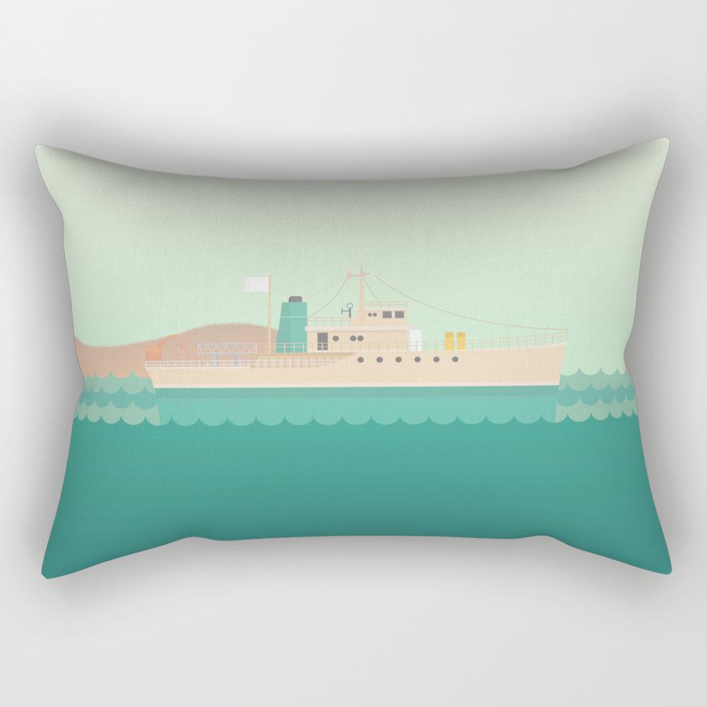 The Life Aquatic With Steve Zissou Rectangular Pillow RPW3375659