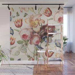 Vintage Botanical No. 3 Wall Mural