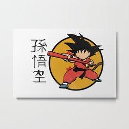 Son Goku Metal Print