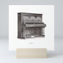 Kimball Piano 10 Mini Art Print