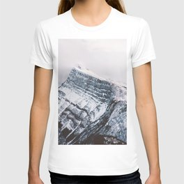 Mt. Rundle Piercing the Clouds T-shirt