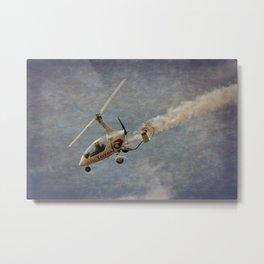 Autogyro Metal Print