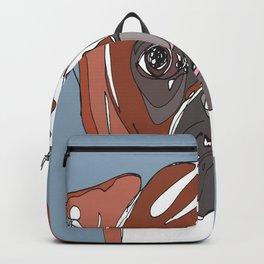 My Sad Boxer Dog Backpack