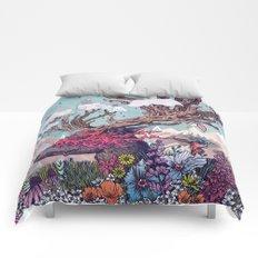 Journeying Spirit (deer) Comforters