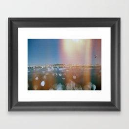 OceanSeries4 Framed Art Print