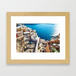 Oia,Santorini Framed Art Print