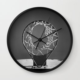 Nothing But Net Wall Clock