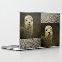 alpaca Laptop & iPad Skins featuring Alpaca  by Guna Andersone & Mario Raats - G&M Studi