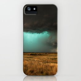Jewel of the Plains - Storm in Texas iPhone Case